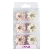 Sugar Anemones - Blush and Ivory 28mm