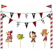 Walt Disney - Jake and the Never Land Pirates Cake Bunting - 5 piece