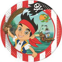 Walt Disney - Jake and the Never Land Pirates - Plates - 8 piece