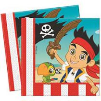 Walt Disney - Jake and the Never Land Pirates - Napkins - 20 piece