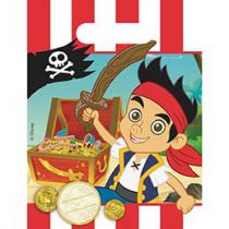 Walt Disney - Jake and the Never Land Pirates - Favour Bags - 6 piece