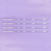 "Clear Dowels 300mm (12"") 4 pack"