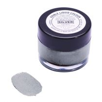 Sugarflair Edible Liquid Colour - Silver