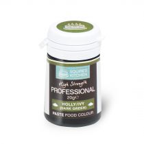 Squires Kitchen Paste Colour - Holly/ Ivy 20g