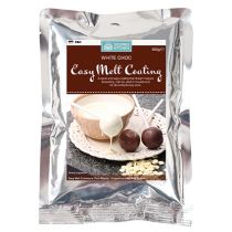 Squires Easy Melt Choc Coating White Choc-300g