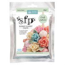 Squires Sugar Florist Paste (SFP) - Candy Green - 200g