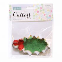 Squires Kitchen Winter Holly Leaf Cutter