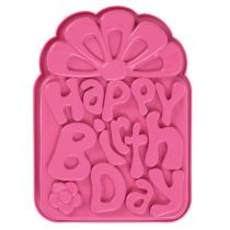 Happy Birthday Cake Mould