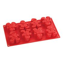 Pavoni Silicone Cake Mould Gingerbread People