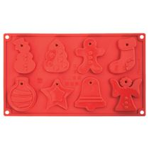 Pavoni Small Christmas Shapes Mould