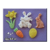 Alphabet Moulds - Easter
