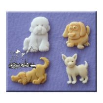 Alphabet Moulds - Dogs 1