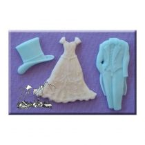 Alphabet Moulds - Wedding