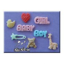 Alphabet Moulds - Baby