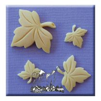 Alphabet Moulds - Maple Leaves