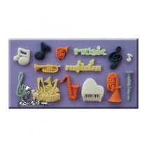 Alphabet Moulds - Music