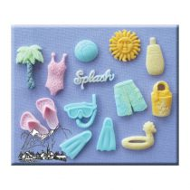 Alphabet Moulds - On The Beach
