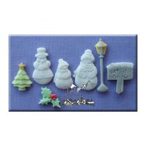 Alphabet Moulds - Let It Snow