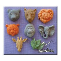 Alphabet Moulds - Large Animal Heads