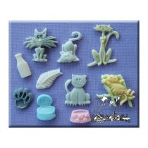 Alphabet Moulds - Cats