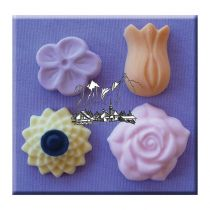 Alphabet Moulds - flower
