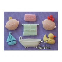 Alphabet Moulds - Bathtime