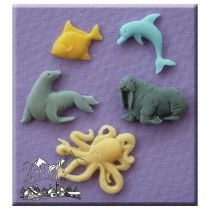 Alphabet Moulds - Sea Creatures