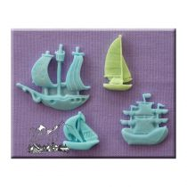 Alphabet Moulds - Ships & Boats