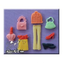 Alphabet Moulds - Shopping