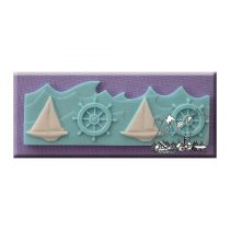 Alphabet Moulds - Nautical Border