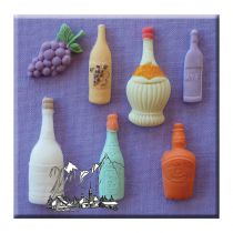 Alphabet Moulds - Assorted Bottles