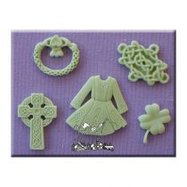 Alphabet Moulds - Luck Of The Irish