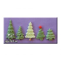 Alphabet Moulds - Christmas Trees