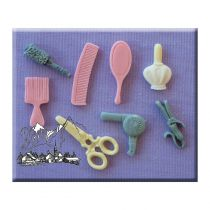 Alphabet Moulds - Hairdressing