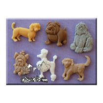 Alphabet Moulds - Dogs 2