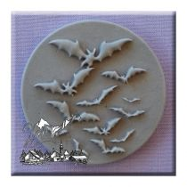 Alphabet Moulds - Halloween Bats