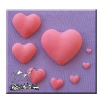 Alphabet Moulds - Plain Hearts