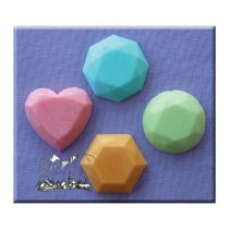Alphabet Moulds - Gems 1