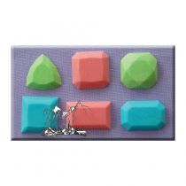 Alphabet Moulds - Gems 3