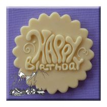 Alphabet Moulds - Happy Birthday Funky