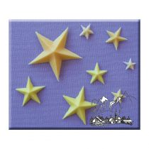 Alphabet Moulds - Stars