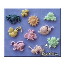 Alphabet Moulds - Summer Bugs