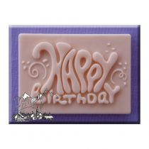 Alphabet Moulds - Happy Birthday Plaques