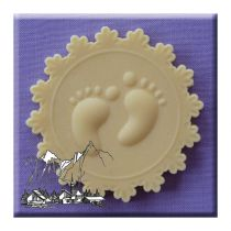Alphabet Moulds - Baby Feet
