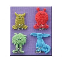 Alphabet Moulds - Little Monsters