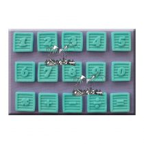 Alphabet Moulds - Baby Block