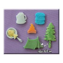 Alphabet Moulds - Camping