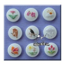 Alphabet Moulds - Buttons Spring