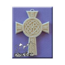 Alphabet Moulds - Celtic Cross 2-Lg