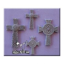 Alphabet Moulds - Celtic Crosses-4Set